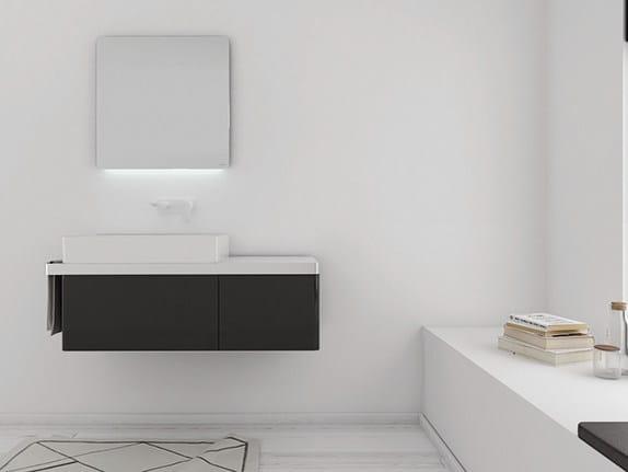 Lacquered vanity unit STRUCTURE   Vanity unit by INBANI