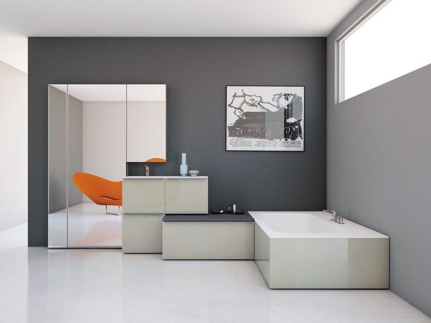 Bathroom furniture set KA | Bathroom furniture set by INBANI