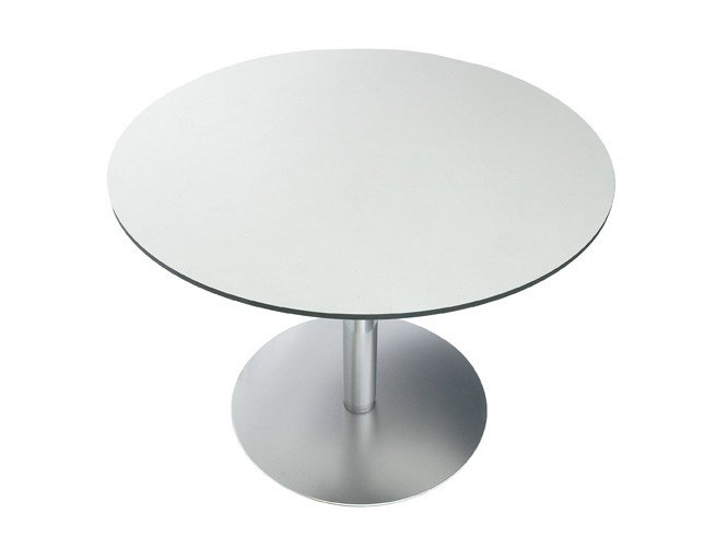 Height-adjustable round table RONDÒ | Round table by Lapalma