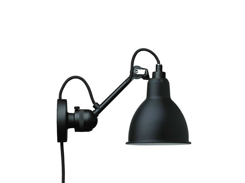 Adjustable wall lamp with swing arm N°304CA | Wall lamp by DCW éditions