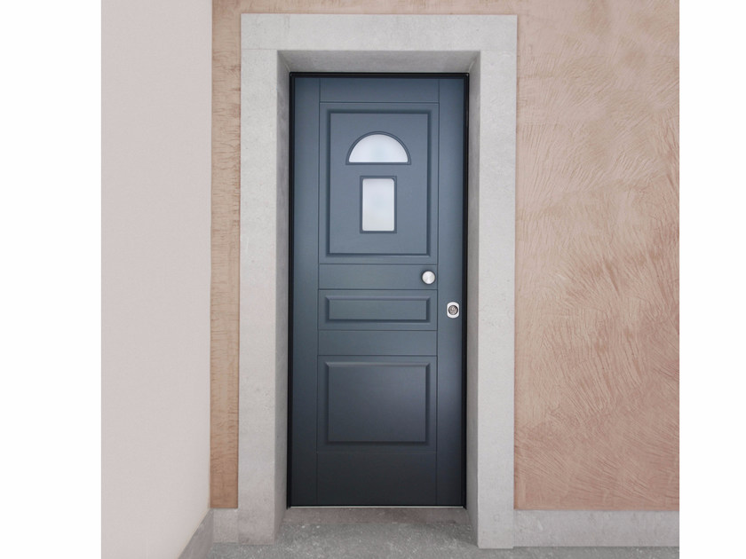 Lacquered glazed safety door SUPERIOR - 16.5022 M16 by Bauxt