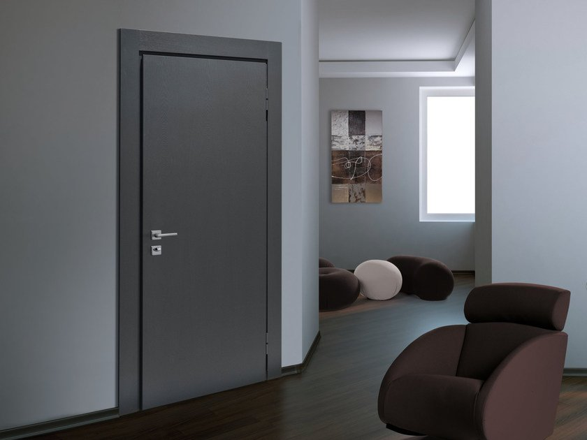 Lacquered ash safety door SUPERIOR - 16.5030 M16 by Bauxt