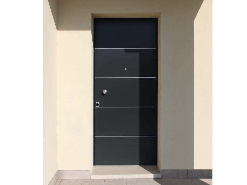 Lacquered okoumé safety door JUNIOR  - 16.5025 J16 by Bauxt