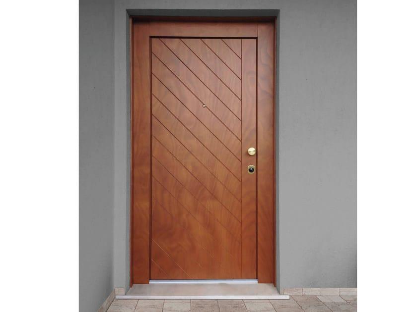 Okoumé safety door ELITE - 16.5046 M60Vip by Bauxt