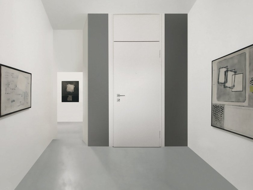 Lacquered MDF safety door SUPERIOR - 16.5049 M16 by Bauxt