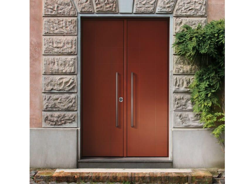 Lacquered okoumé safety door ELITE - 16.5072 M60Vip by Bauxt