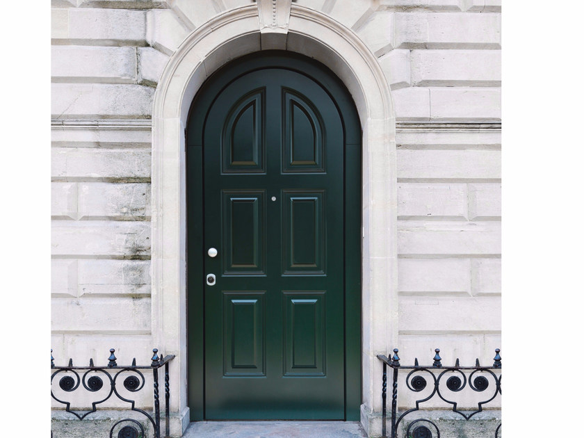 Lacquered arched MDF safety door ELITE - 16.5055 M60Vip by Bauxt