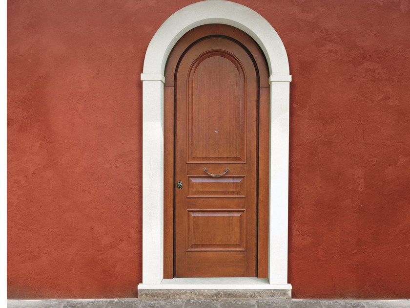 Arched Safety Door Superior 16 5057 M16 By Bauxt