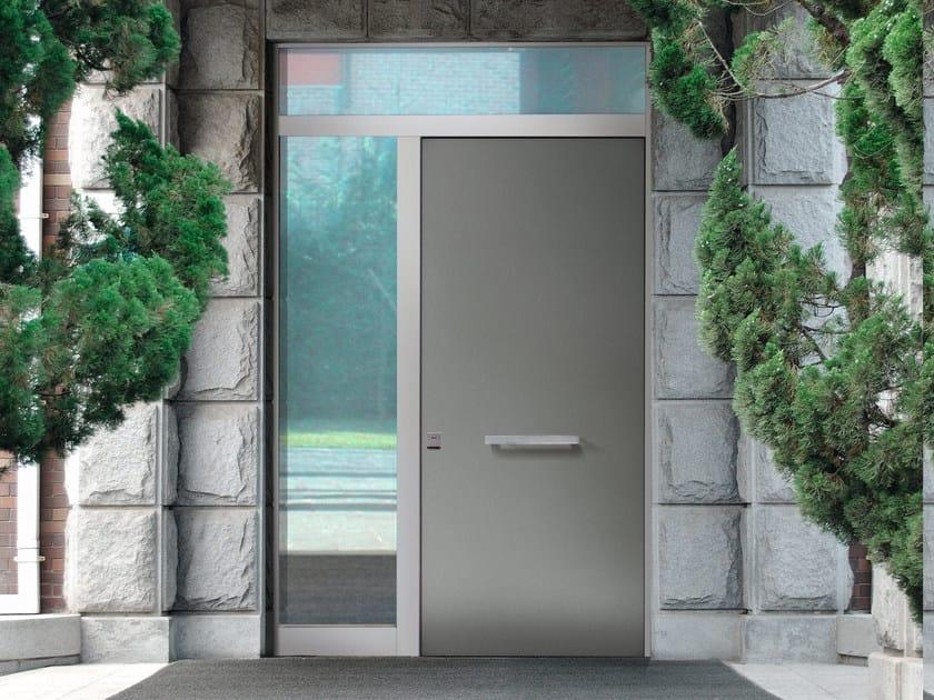 Porta d 39 ingresso blindata con pannelli in vetro elite 16 for Porta ingresso vetro