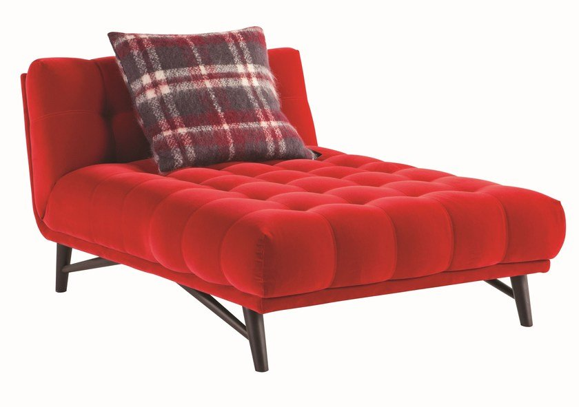 Tufted cotton day bed PROFILE by ROCHE BOBOIS