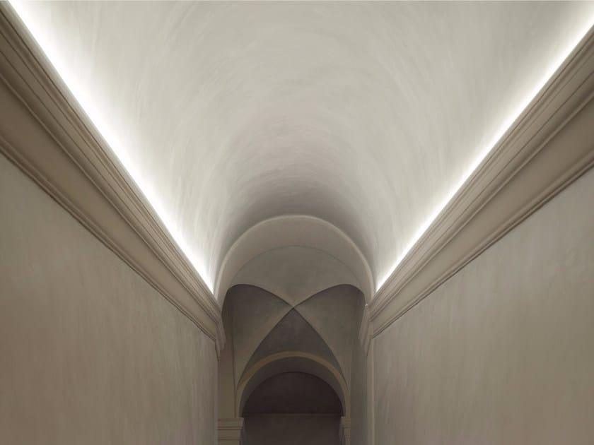Profilo per illuminazione lineare in alluminio per moduli LED PROFILO T/U by GLIP by S.I.L.E