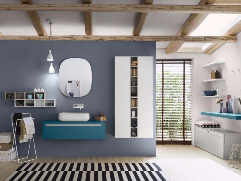 Sistema bagno componibile PROGETTO - Composizione 2 by INDA®
