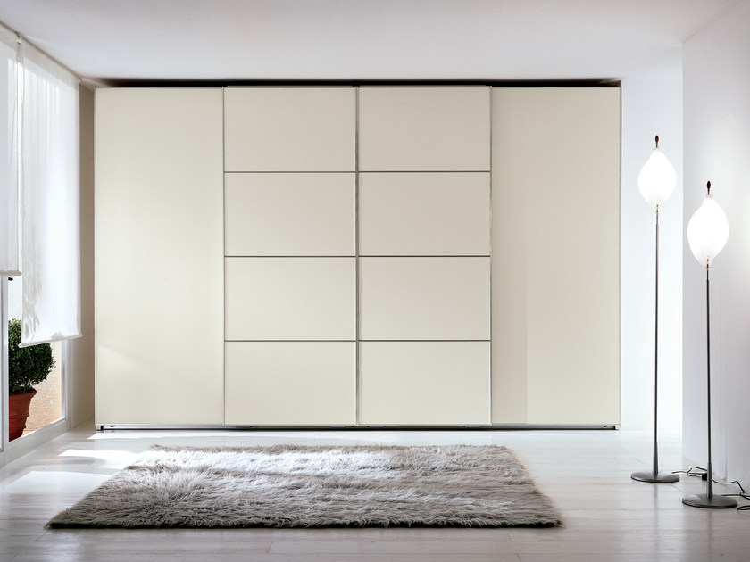 Wardrobe with sliding doors PROGETTO STELO | Wardrobe with sliding doors by Silenia