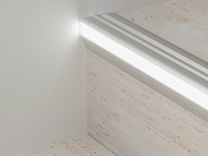 LED aluminium Step nosing PROLIGHT PROTECT LED G/9/F by PROFILPAS
