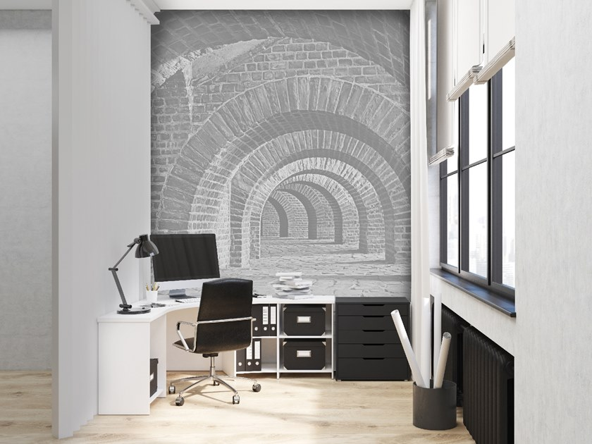 Trompe l'oeil wallpaper PROSPETTIVA by Wall LCA