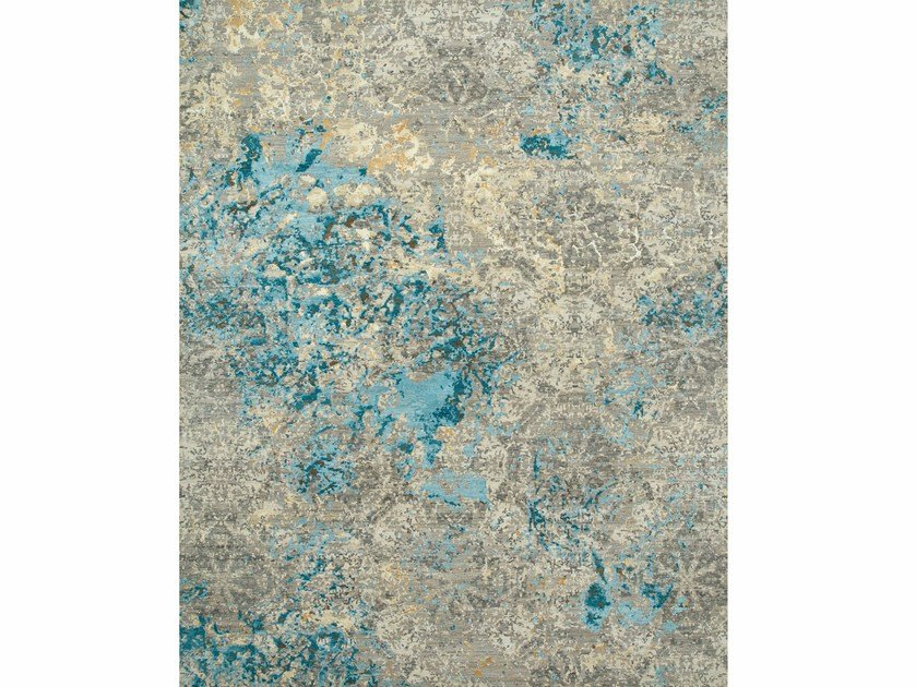 Patterned rug PROTEUS ESK-406 Antique White/Soft Gray by Jaipur Rugs