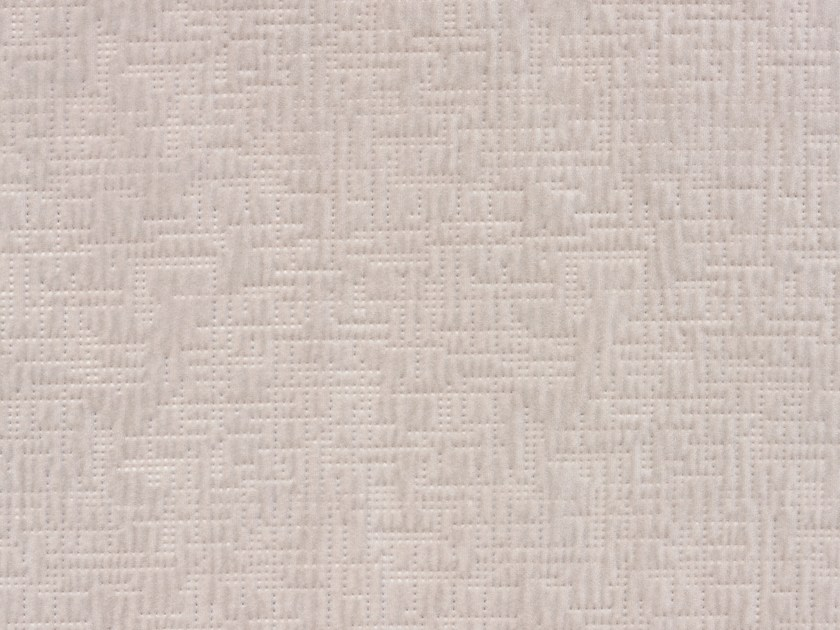 Solid-color embossed velvet upholstery fabric PROUST by Dedar