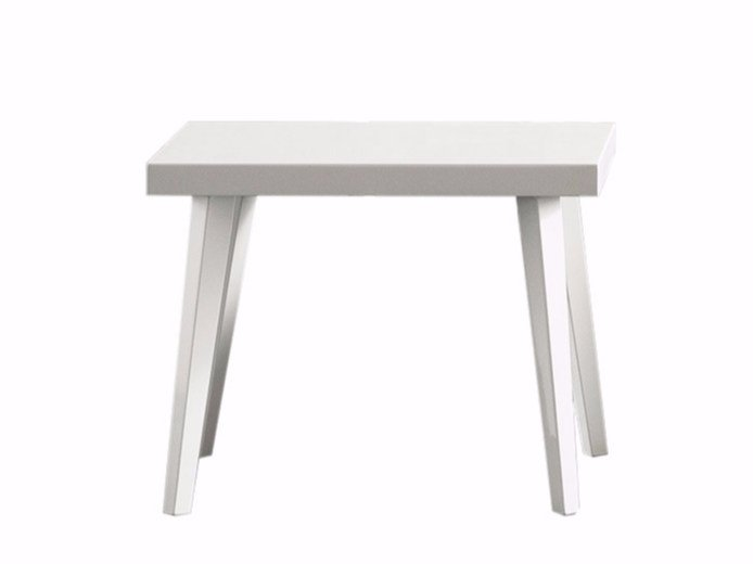 Rectangular lacquered bedside table PROVENZA | Rectangular bedside table by Chaarme Letti