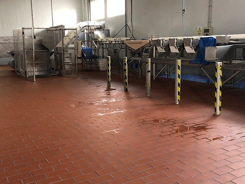 Pavimento industriale in gres porcellanato PROYECT ROJO by Exagres