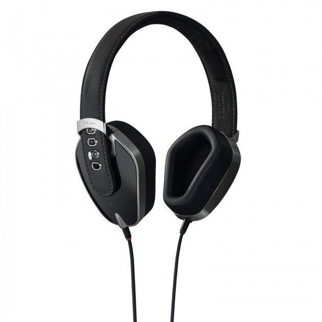 Aluminium Headphones PRYMA 01 CLASSIC PURE BLACK by PRYMA