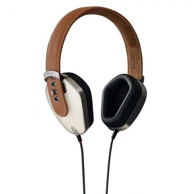 Aluminium Headphones PRYMA 01 CLASSIC COFFEE & CREAM by PRYMA