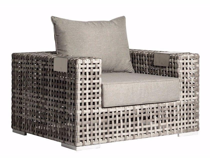 Garden armchair with armrests PSARA | Garden armchair by MOBIKA GARDEN
