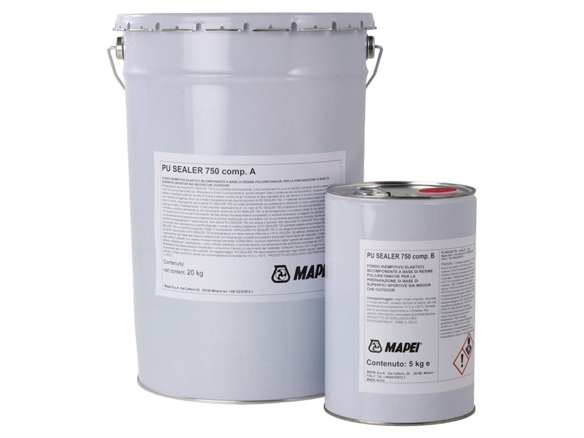 Base coat and impregnating compound for paint and varnish PU SEALER 750 by MAPEI