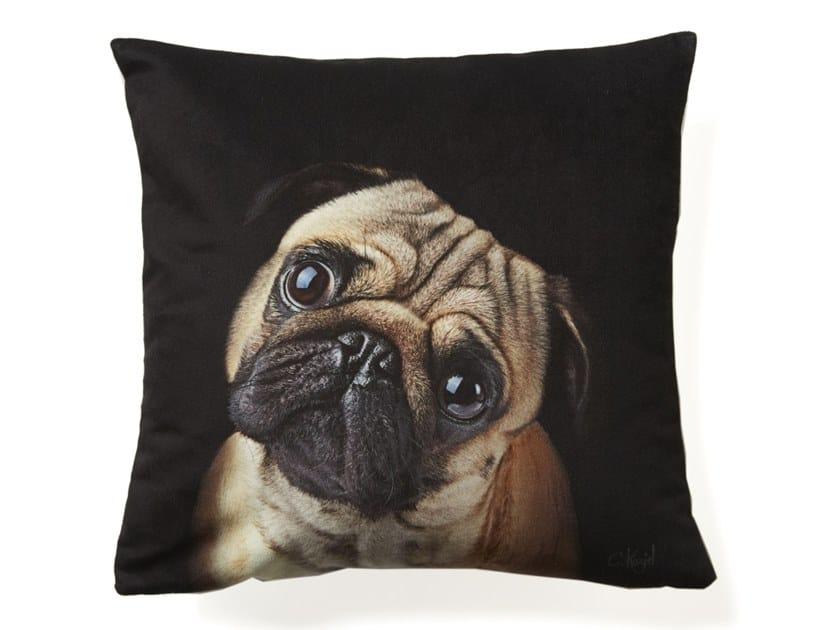 Cushion PUG DOG by Koziel