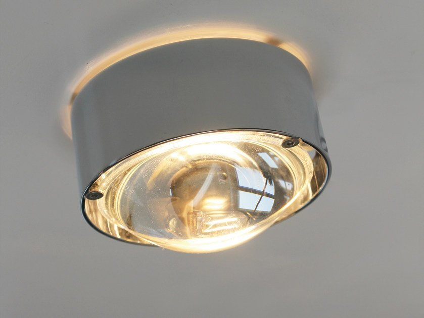 Metal ceiling lamp PUK ONE | Ceiling lamp by Top Light