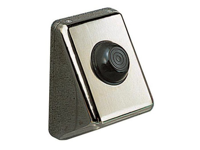 Wall-mounted stainless steel flush button PULSANTE PNEUMATICO | Stainless steel flush button by OLI