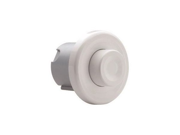 Recessed wall-mounted ABS flush button PULSANTE PNEUMATICO | Recessed flush button by OLI