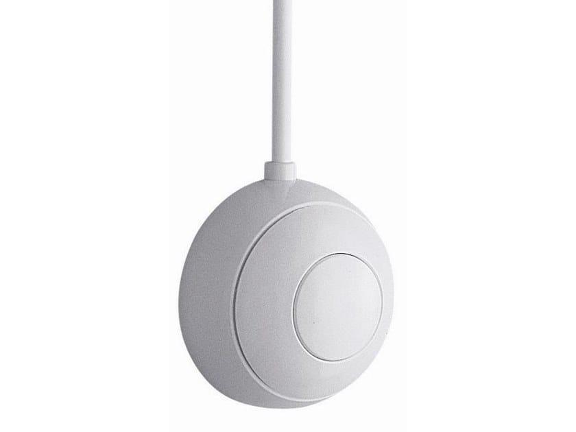 Wall-mounted ABS flush button PULSANTE PNEUMATICO | Wall-mounted flush button by OLI