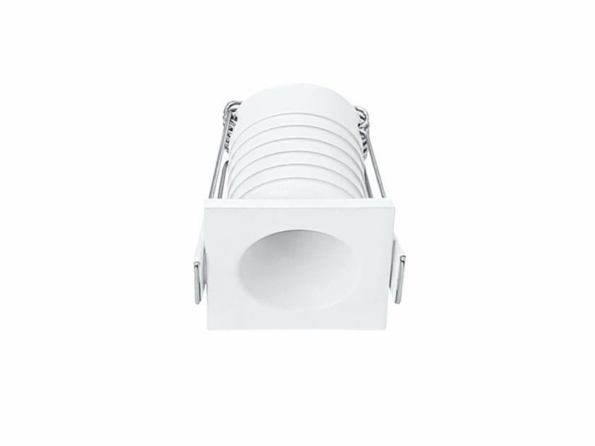Faretto per esterno a LED in alluminio da incasso PULSAR C by BENEITO FAURE