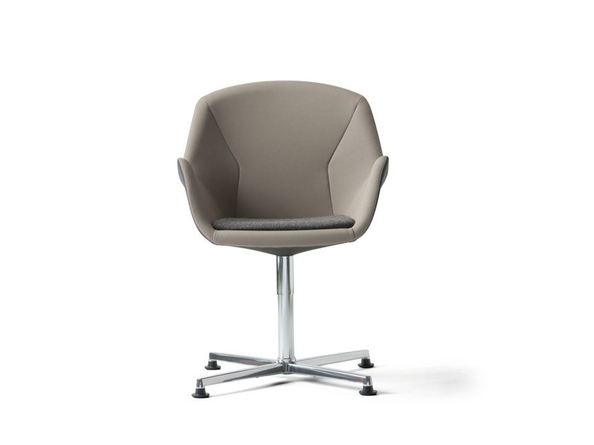Training chair with 4-spoke base with armrests PULSE | Training chair with 4-spoke base by Wiesner-Hager