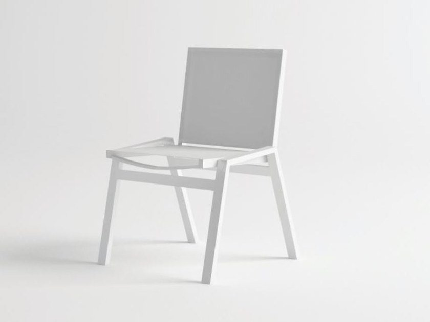 Aluminium garden chair PULVIS | Chair by 10Deka