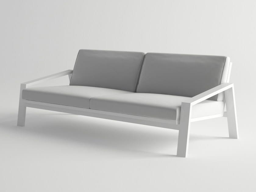 Aluminium sofa PULVIS | Sofa by 10Deka