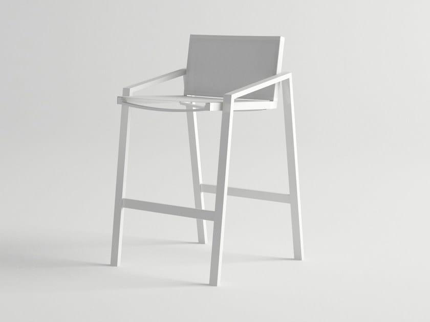 Aluminium garden chair PULVIS   Chair by 10Deka