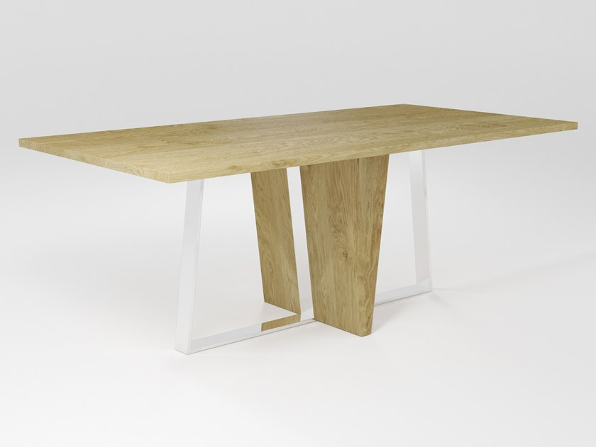 Wooden dining table PUNGOLO | Wooden table by Barel