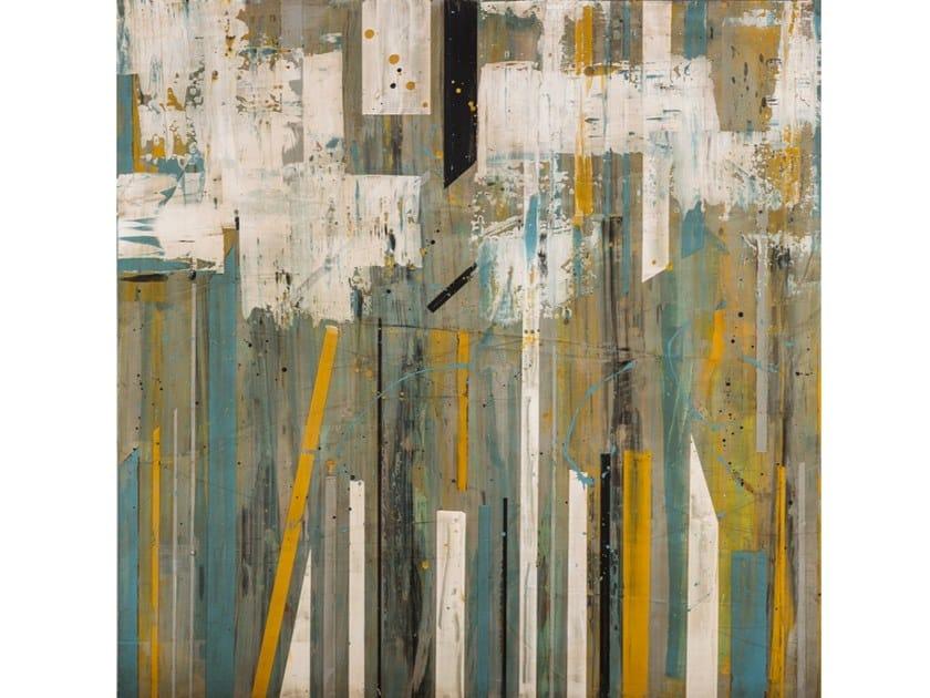Wooden Painting Puntas verdes by NOVOCUADRO ART COMPANY