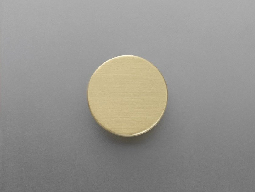 Stainless steel Furniture knob PUNTO 1 by ABIMIS