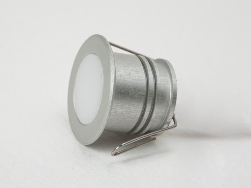 LED recessed Anodized aluminium Outdoor spotlight PUNTO by ENGI