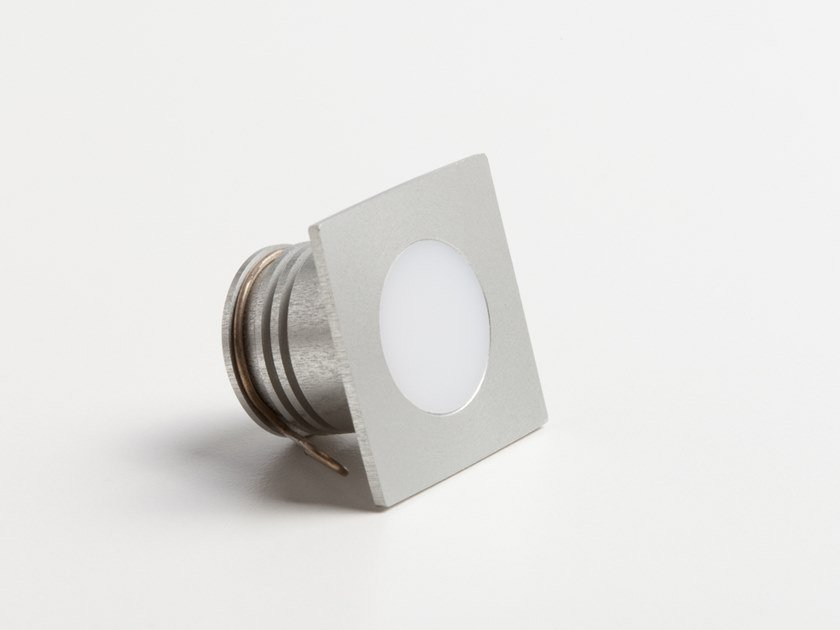 LED recessed Anodized aluminium Outdoor spotlight PUNTO Q by ENGI