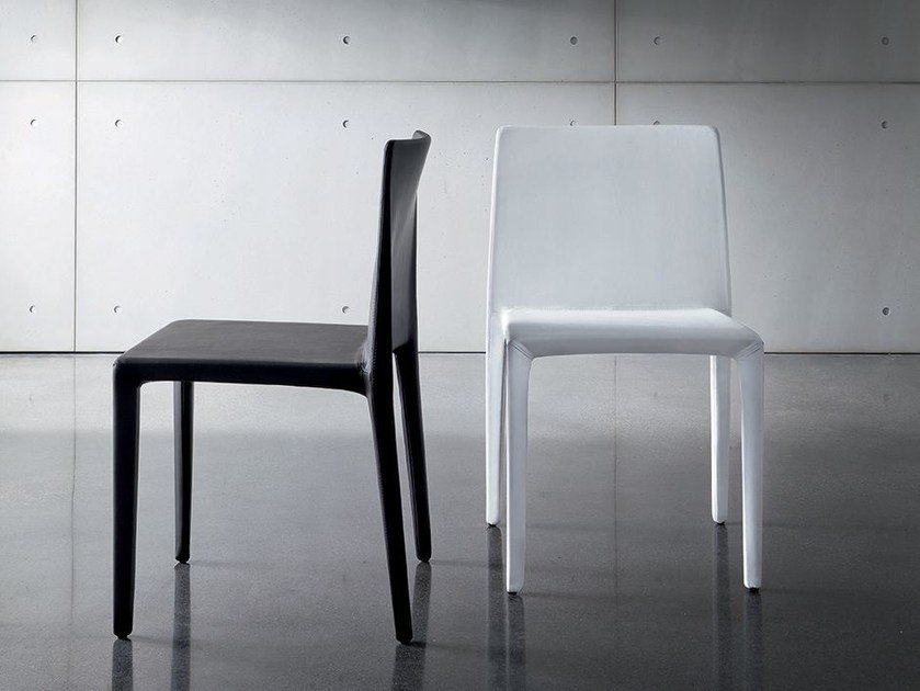 Leather chair PURA | Leather chair by Sovet italia