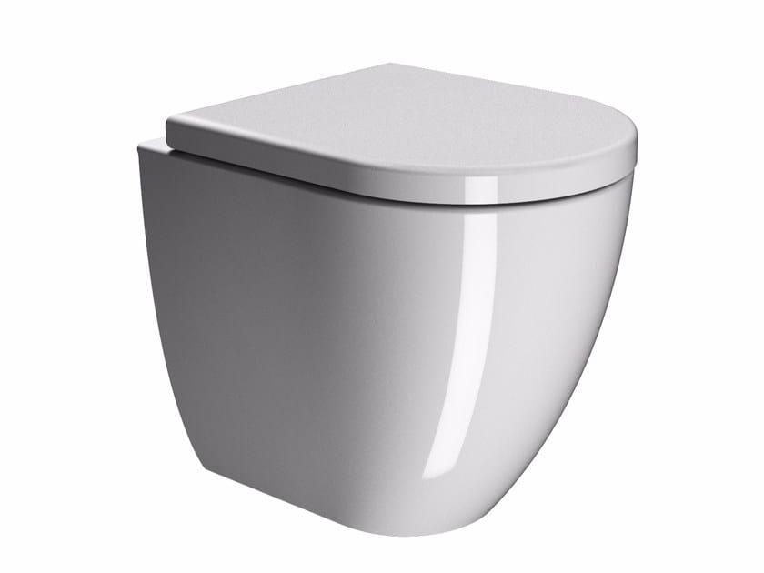 PURA 55 | Wc Serie Pura By GSI ceramica