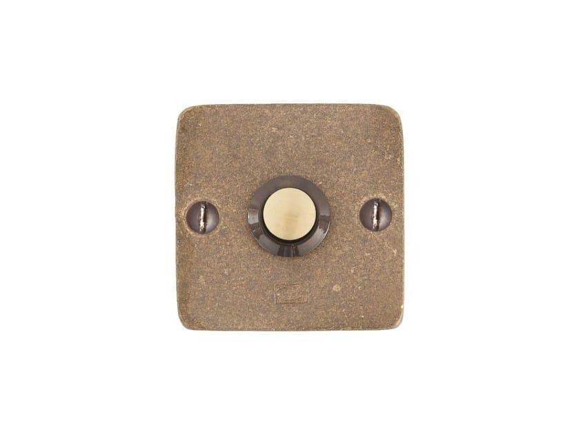 Bronze doorbell button PURE 14498 by Dauby