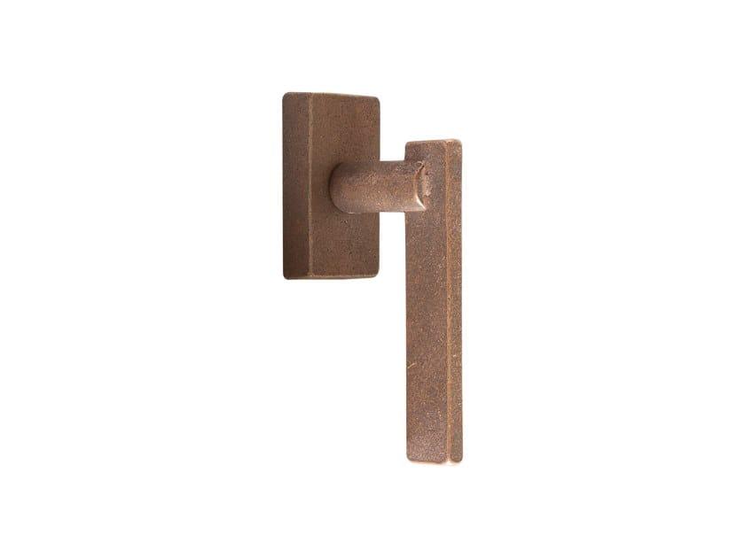 Bronze window handle PURE 16926 by Dauby