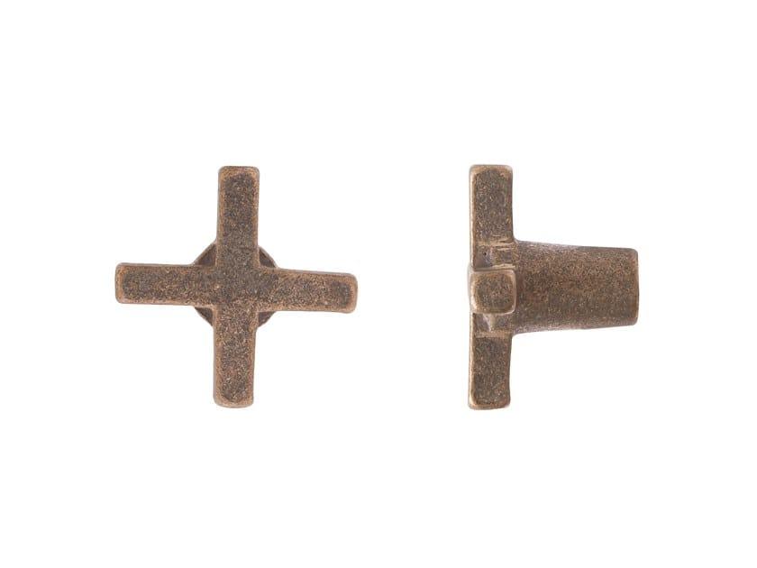 Bronze Furniture knob PURE 17116 by Dauby