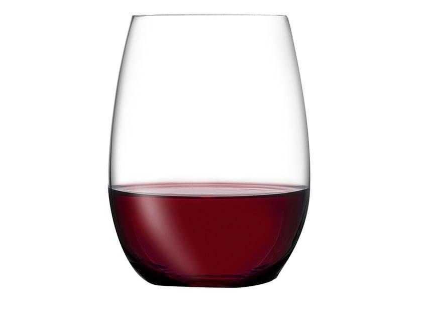 Set of 4 Bordeaux Glasses PURE BORDEAUX by NUDE