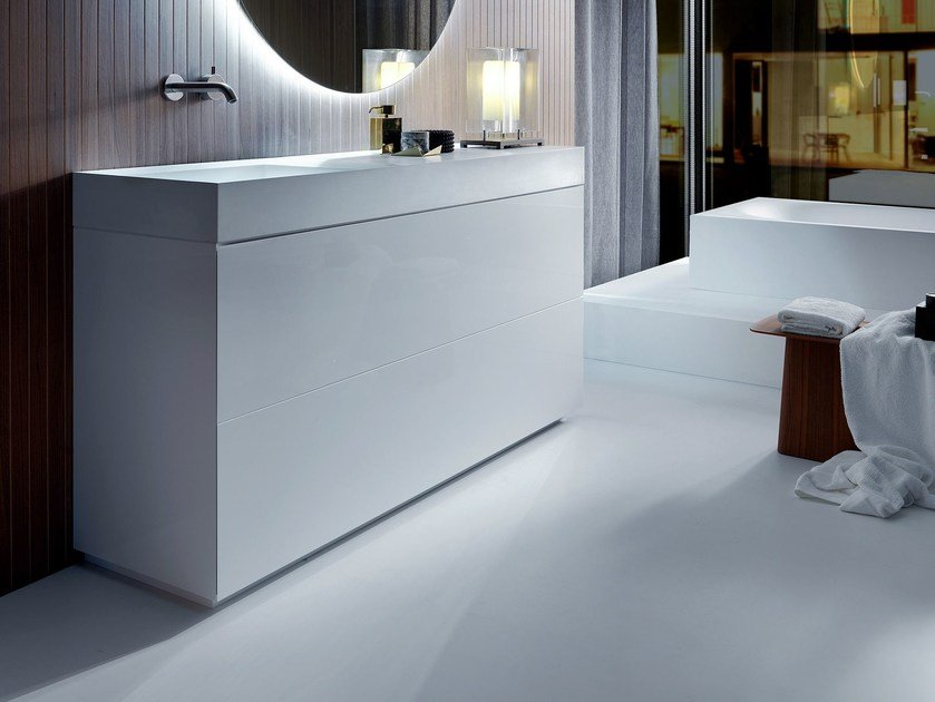Pure vanity unit pure collection by falper design metrica