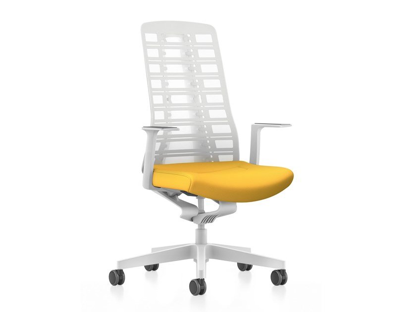 Mesh Task Chair With 5 Spoke Base With Armrests Pure Is3 Pu213 By